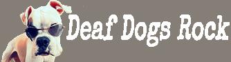 Deaf Dogs Rock Logo